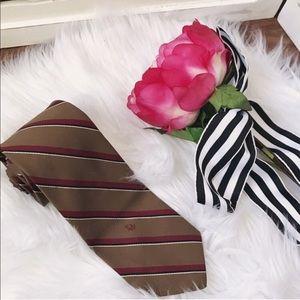 Christian Dior Men's Striped Tie